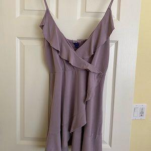 Brand new, Aeropostale wrap dress, lavender, XL